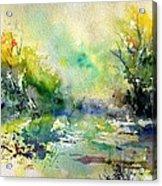 Watercolor 45319041 Acrylic Print