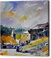 Watercolor Baillamont Acrylic Print