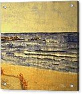 Watercolor Coast 2 Acrylic Print