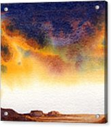 Mesa Acrylic Print