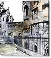 Watercolor Paris Acrylic Print