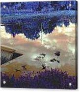 Waterfall 2 Acrylic Print by Dietrich ralph  Katz