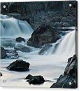 Waterfall After Dusk Acrylic Print
