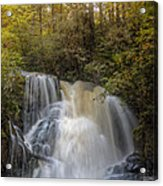 Waterfall After The Rain Acrylic Print