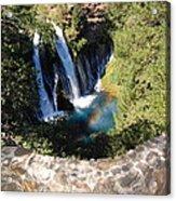 Waterfall And Rainbow 3 Acrylic Print