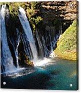 Waterfall And Rainbow 4 Acrylic Print