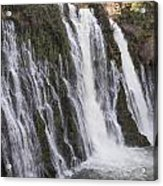 Waterfall At Macarthur-burney Falls State Park  Acrylic Print