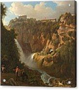 Waterfall At Tivoli Acrylic Print