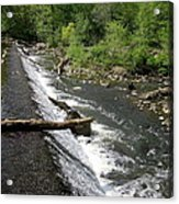 Waterfall At West Point II Acrylic Print