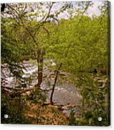 Waterfall At West Point Acrylic Print
