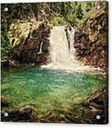Waterfall Dreaming Acrylic Print