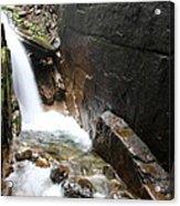 Waterfall Flume Gorge - Nh Acrylic Print