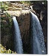 Waterfall From The Top Acrylic Print