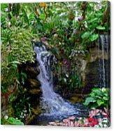 Waterfall Garden Acrylic Print