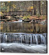 Waterfall - George Childs State Park Acrylic Print