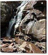 Waterfall In Colorado Acrylic Print