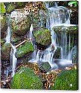 Waterfall In Marlay Park Acrylic Print