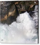 Waterfall In Neuhausen Near Schaffhausen Acrylic Print