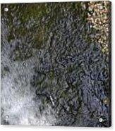 waterfall in park Angerenstein in Arnhem Acrylic Print
