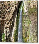 Waterfall In Ronda Acrylic Print