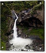 Waterfall Inspiration Acrylic Print