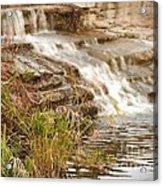 Waterfall Acrylic Print by Kimberly  Maiden