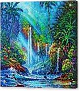 waterfall lV Acrylic Print