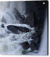 Waterfall Motion Acrylic Print