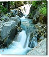Waterfall Near Paradise Acrylic Print