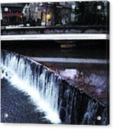 Waterfall New Hope Pa Acrylic Print
