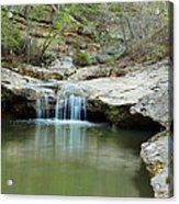 Waterfall On Piney Creek Acrylic Print