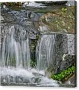 Waterfall On The Paradise River Acrylic Print