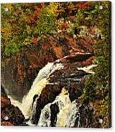 Waterfall Quebec 2 Acrylic Print