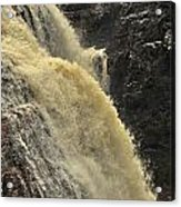 Waterfall Quebec 3 Acrylic Print