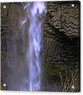Waterfall Spray Acrylic Print
