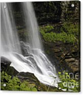 Waterfalls At Base Acrylic Print