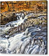 Waterfalls At Fishkill Creek Acrylic Print