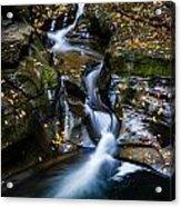 Waterfalls At Watkins Glen Acrylic Print