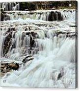 Waterfalls Flowing Acrylic Print