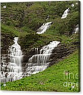 Waterfalls Galore Acrylic Print