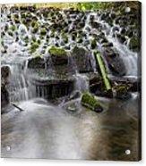Waterfalls In Marlay Park Acrylic Print