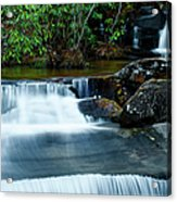 Waterfalls Of Carreck Creek Acrylic Print