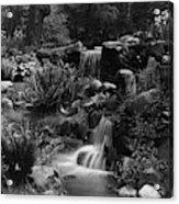 Waterfalls On The Mr J B Van Sciver Estate Acrylic Print
