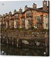 Waterfront Apartments Acrylic Print