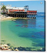 Waterfront At Cannery Row Acrylic Print