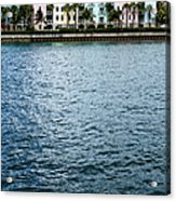 Waterfront Colors Acrylic Print