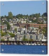 Waterfront Living On Lake Union Acrylic Print