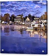 Waterfront Morning Acrylic Print