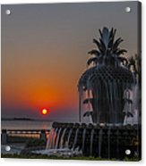 Waterfront Park Sunrise Acrylic Print