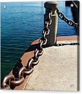 Waterfront Trail Acrylic Print